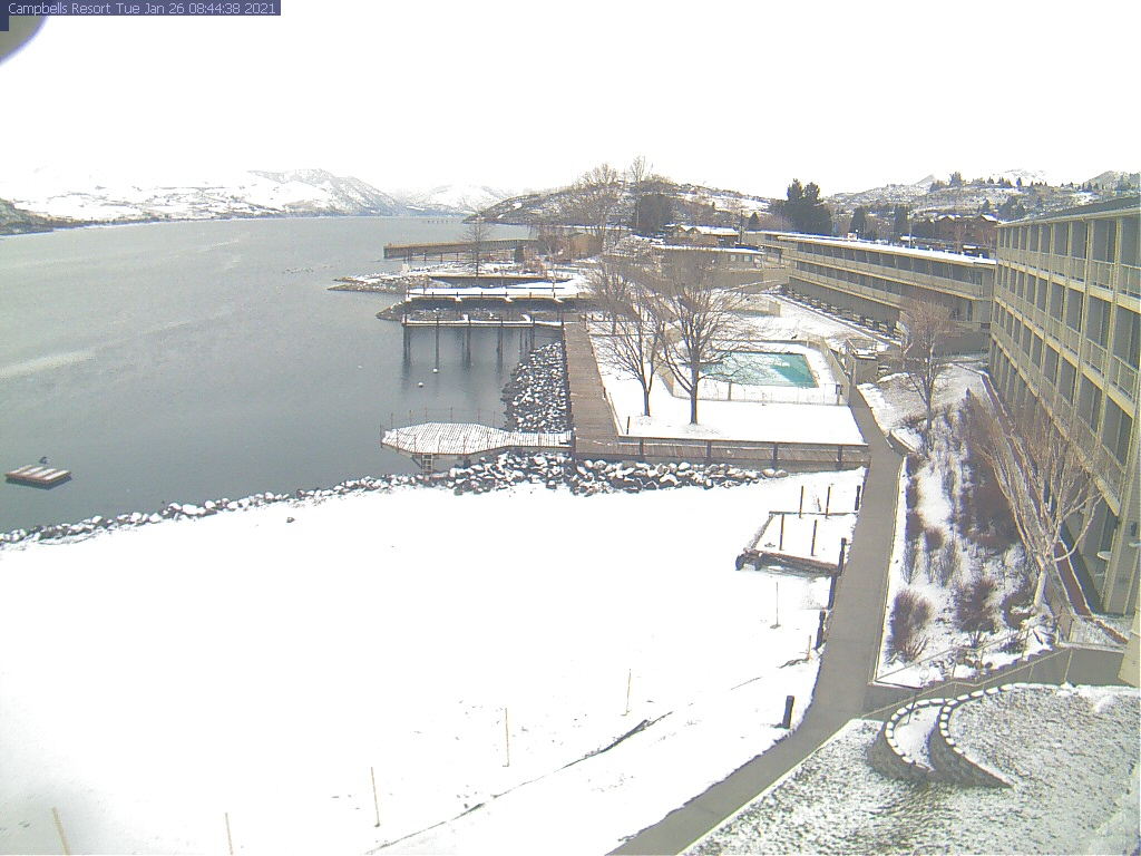 Lake Chelan Beach Webcam Image